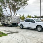 Our site at Anaheim RV Park